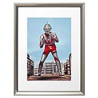 ウルトラ百景 ウルトラマン Best Scene 100 アートポスター (アートフレーム 付) 43×33cm ウルトラマン (Aタイプ) 9305