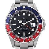 ロレックス GMTマスターII 赤青ベゼル スティックダイアル D番 16710[中古]メンズ [並行輸入品]