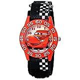[ディズニー キッズ]Disney Kids カーズ レッド ブラック マジックベルト W001679 腕時計 [並行輸入品]