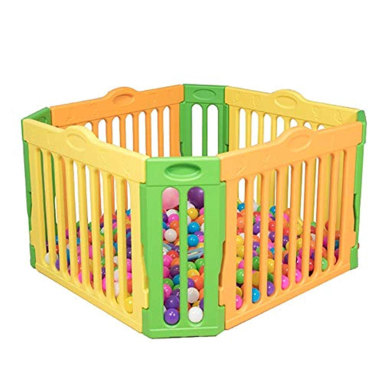 BSNOWF-ベビーサークル ベビープレイペン、幼児クロール幼児倒錯防止安全保護子供用ゲームフェンス屋内世帯