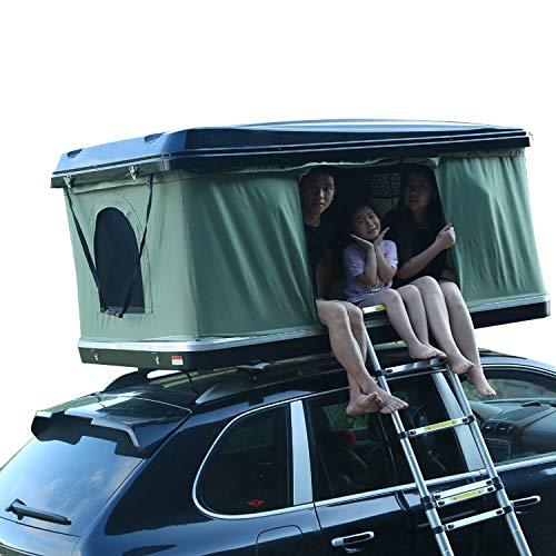 はしご付き 車上泊 ルーフテント 車上テント カールーフテント キャンピング [並行輸入品]