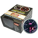 オートゲージ(AUTOGAUGE) SM60バキューム計 ブラックフェイスホワイトLED ワーニング機能付 60パイ 60AVASWL270