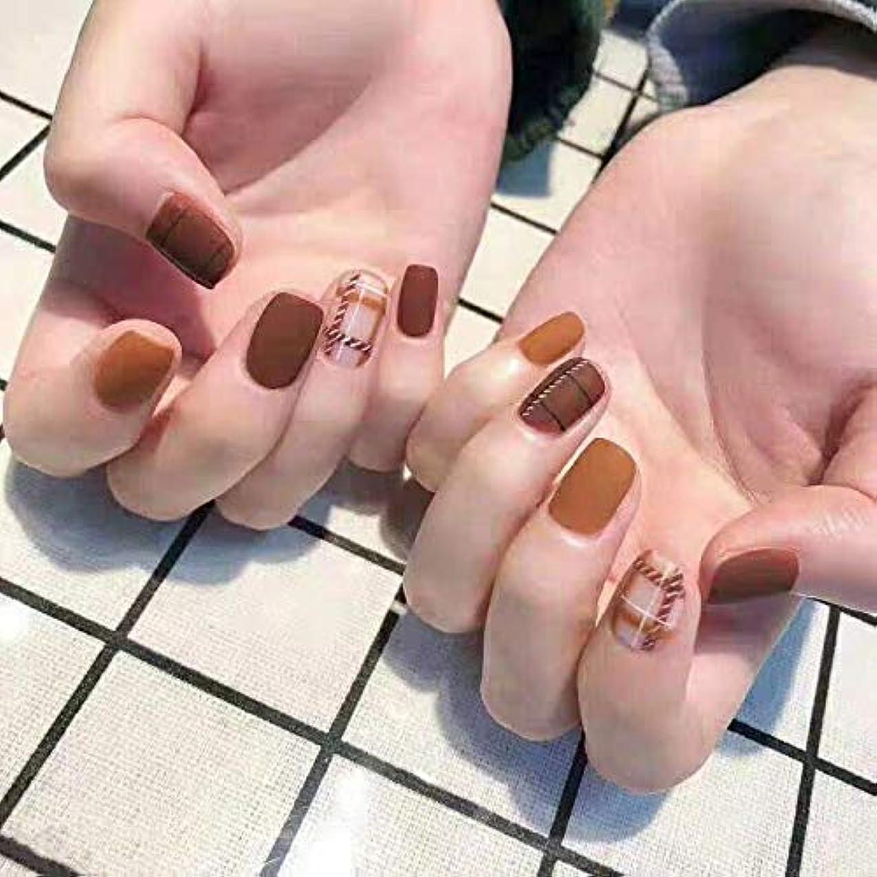 誰もスキル年齢XUANHU NAIL PATCH ネイルチップ つけ爪 付け爪 つけ方簡単 ネイル デコネイルコレクション シール ハロウィン 母の日 パーティ 人気 毎日変身 24枚セット