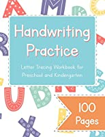 Handwriting Practice Letter Tracing Workbook for Preschool and Kindergarten: Uppercase and Lowercase Letter Dot to Dot Tracing