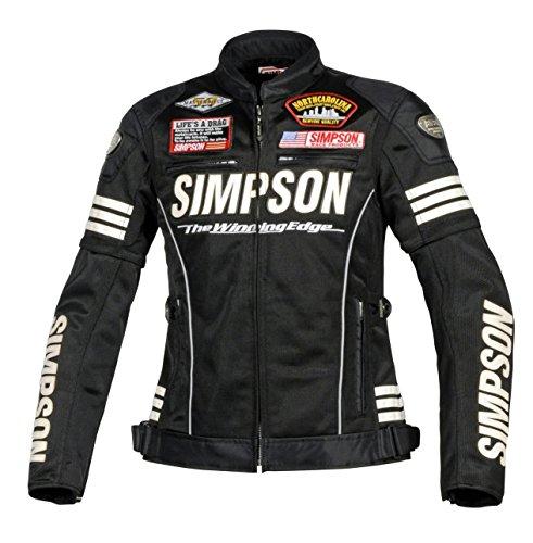 シンプソン(SIMPSON) バイク用ジャケット(レディース...