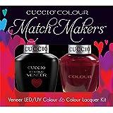 Cuccio MatchMakers Veneer & Lacquer - That's So Kingky - 0.43oz / 13ml Each
