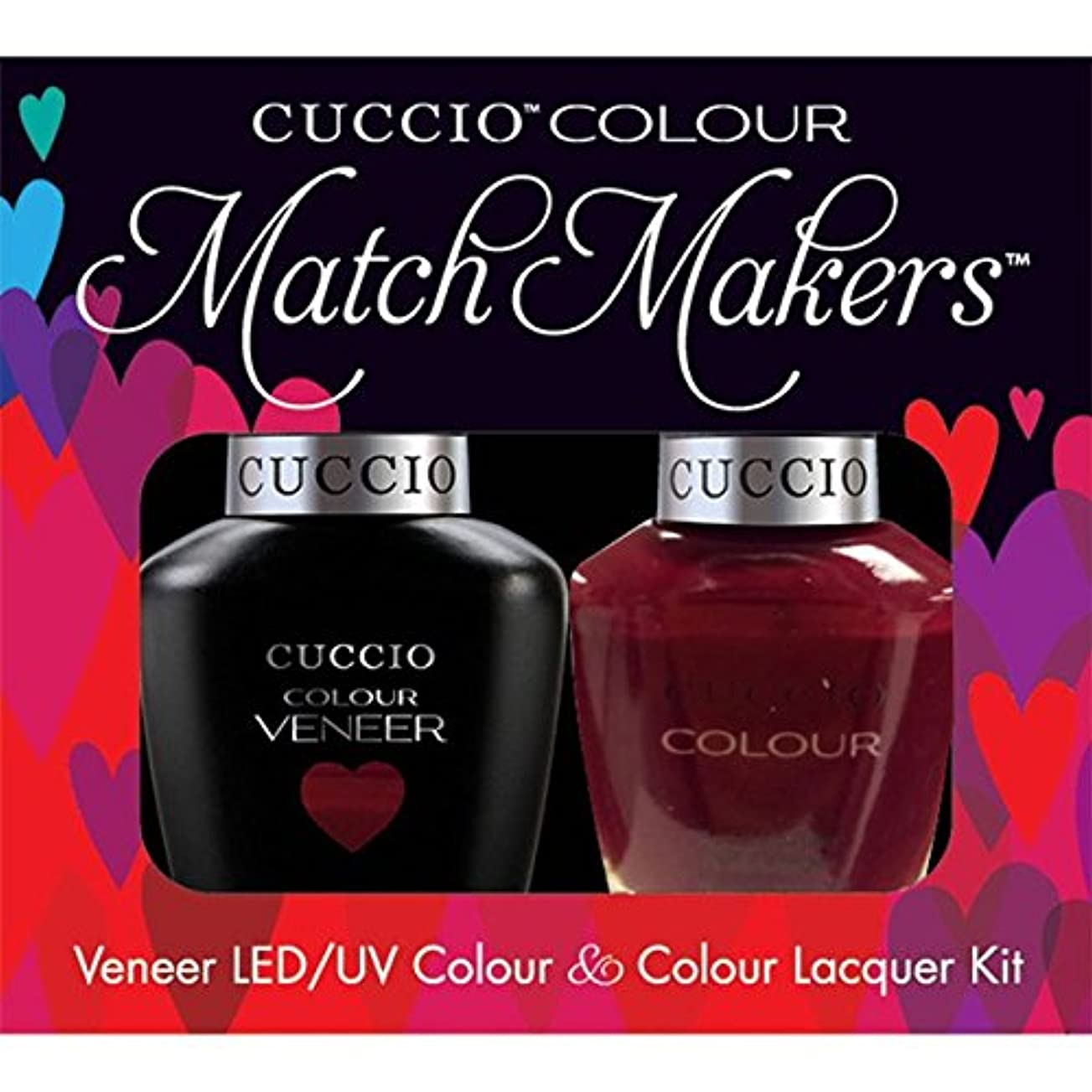 靄呼び起こすテラスCuccio MatchMakers Veneer & Lacquer - That's So Kingky - 0.43oz / 13ml Each