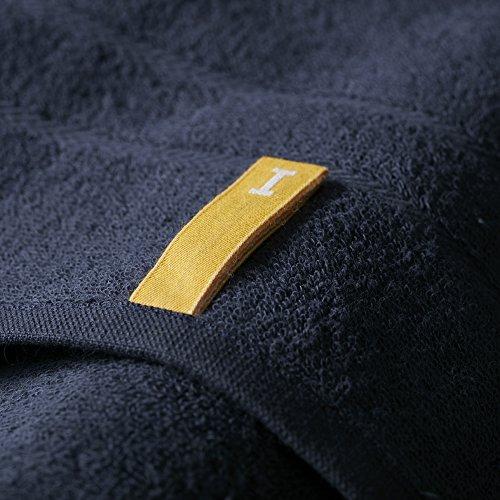 オーガニック120 バスタオル ネイビー(今治タオルのIKEUCHI ORGANIC 風で織るタオル)1枚