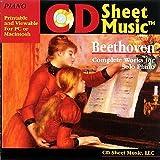 CD Sheet Music ベートーヴェン ピアノ作品集