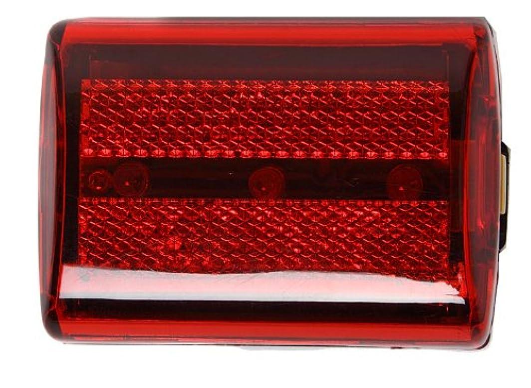 花弁自明慣らすSE - Safety Light - Flasher, Rectangular, Red, 3-in-1 - FL20R by SE