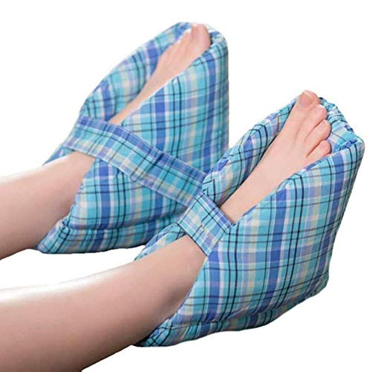 エキスパート強風思想かかとプロテクター柔らかく快適な履き心地により、足の枕、かかとのクッション、かかとの保護、1ペアが見つかります