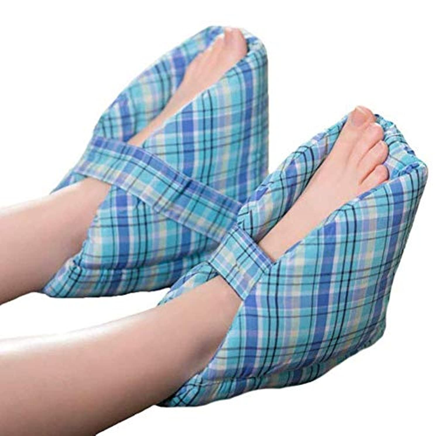 取り付け服ピラミッドかかとプロテクター柔らかく快適な履き心地により、足の枕、かかとのクッション、かかとの保護、1ペアが見つかります