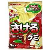 味覚糖 さけるグミ 津軽りんご 7枚×10袋
