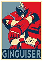 Wall Art Poster Print Propaganda - Robot Govarian - Formato A3 (42x30 cm)