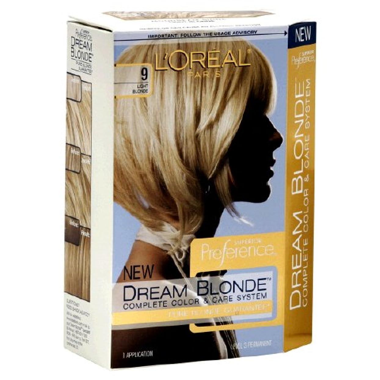 妨げるじゃがいも絶え間ないL'Oreal Technique Preference - 9 Pastel Blonde - 59.1ml / 2oz