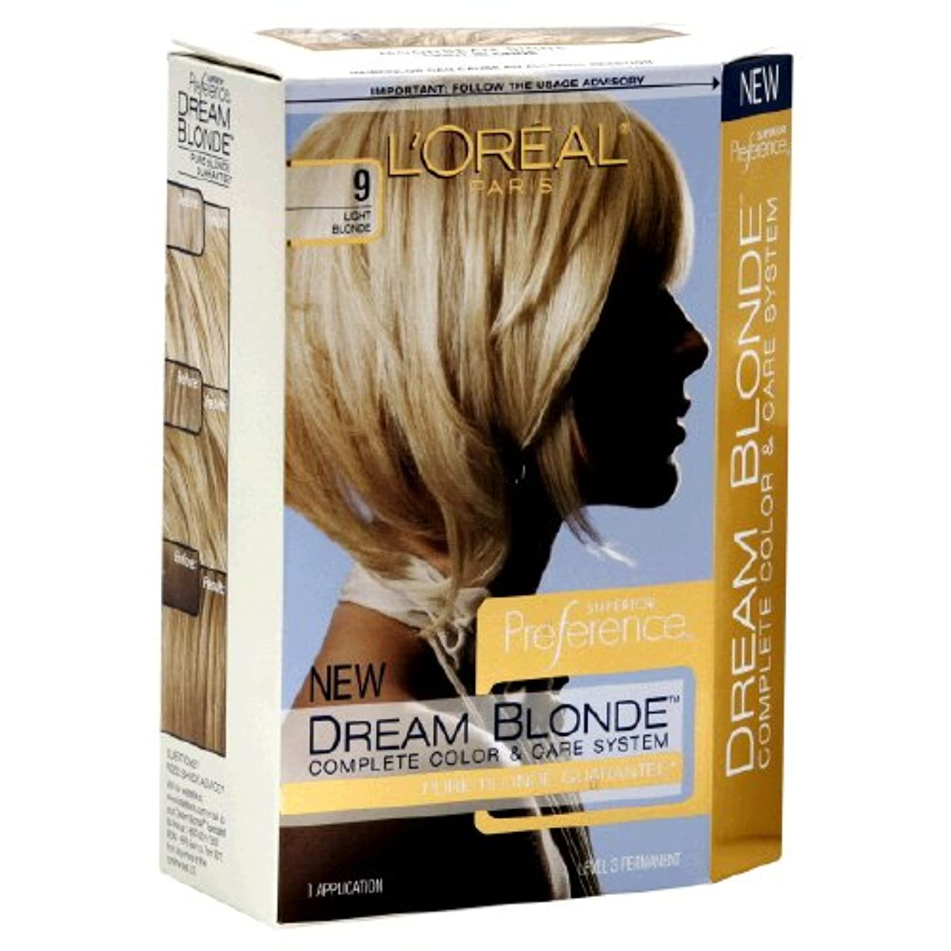 L'Oreal Technique Preference - 9 Pastel Blonde - 59.1ml / 2oz