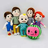 SparkLiay New Cocomelon JJ's Family Educational Soft Plush Stuffed Doll Toys Kids Xmas Gifts (Color : 26cm Baby)