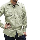 ディッキーズ ワークシャツ 長袖 574 2XL KHAKI [並行輸入品]