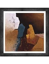 ティール抽象I by Cyndi Schick – 20 x 20インチ – アートプリントポスター LE_194553-F10588-20x20