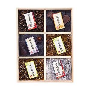 廣川昆布 万味豊秀塩昆布・佃煮6品詰合せ 201-03