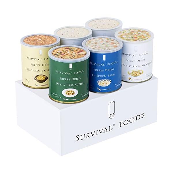 サバイバルフーズ 大缶バラエティセット 60食の商品画像