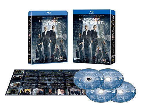 パーソン・オブ・インタレスト 〈フォース・シーズン〉 コンプリート・ボックス (4枚組) [Blu-ray]の詳細を見る