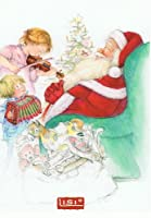 ねこの引出し リシ マーチンのクリスマスポストカード★サンタさんと子供たち