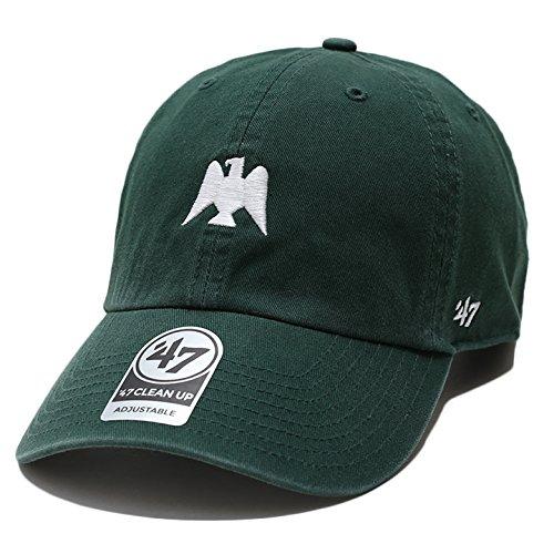 【NPB-BSRNR03GWS】 フォーティーセブンブランド 47BRAND キャップ 帽子 南海ホークス プロ野球 アメカジ 正規品 (01)深緑 Fサイズ(男女兼用)