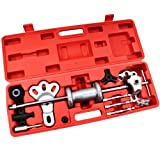 17pcs スライディングハンマーセット & 2爪 3爪 プーラーセット 板金ハンマーセット 鈑金工具