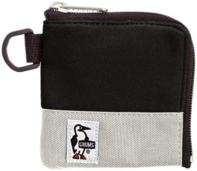 [チャムス] CHUMS Square Coin Case Sweat Nylon CH60-0693 Black/Grey (ブラックグレー)