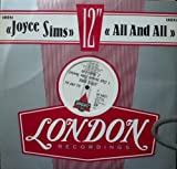 All And All - Joyce Sims 12""