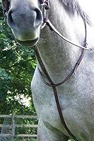 ProAm Raised Fancy Stitched Standing Martingale フル