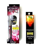 マルマン 電子PAIPO eco+フレーバーリキッド カシスオレンジ 10ml (本体レッド)