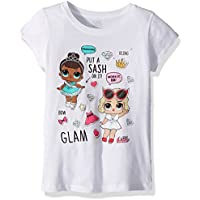 L.O.L. Surprise! Girls Glam Club Miss Baby & Leading Baby Short Sleeve T-Shirt Short Sleeve T-Shirt