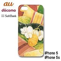 アイフォン5S iPhone5S iPhone5S スマホケース カバー ねこ 5-135