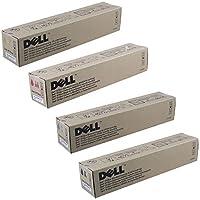 Dell JD746, GD907, GD908, KD566 Standard Yield Toner Cartridge Set by Dell
