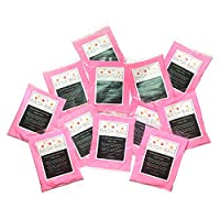 """Gender Reveal Powder by Bash Bag. Choose""""Pretty in Pink"""",""""Boy Band Blue"""", or Both. Includes Free Printable Download. (12 Packs, All Pink)"""