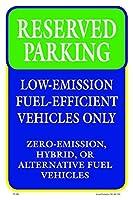 Reserved Parking 12X18 Aluminum Sign [並行輸入品]