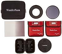 "WonderPana 66FreeArc Essentials ND .6SEキットfor Canon 17mm TS - E Super Wide Tilt / Shift f / 4lレンズwith 6.6X 8.5"" Graduated Neutral Density 0.6( grad-nd4、2-stopソフトエッジフィルタとニュートラル密度16( nd16、4-stop )フィルタ"