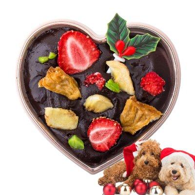 犬用 クリスマスケーキ(ハートのギフト・...