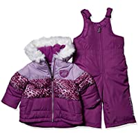 Skechers Baby Girls 2-Piece Heavyweight Snowsuit