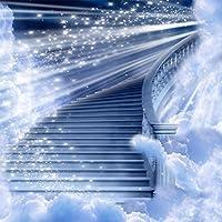 写真バックドロップ–Heavenly–10x 10ft。–100%シームレスなポリエステル