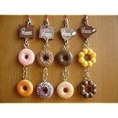 ミスタードーナツ ダブル ストラップ 人気4種 mister Donut 全4種 1 ボン デ リングポン デ ダブルショコラ