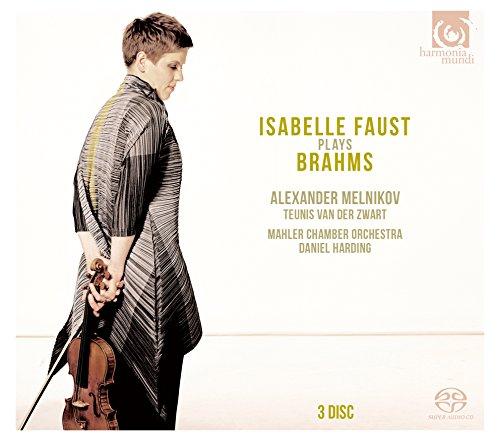イザベル・ファウスト / ブラームス演奏集 (Isabelle Faust plays Brahms / Isabelle Faust | Alexander Melnikov | Teunis Van Der Zwart | Mahler Chamber Orchestra | Daniel Harding) [3SACDシングルレイヤー] [日本語帯・解説付]
