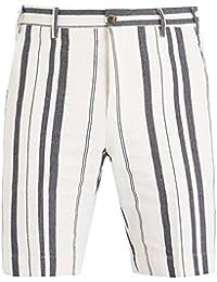 (ジェイダブリューブライン) J.W. Brine メンズ ボトムス・パンツ ショートパンツ Classic striped cotton shorts [並行輸入品]