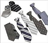 ネクタイ 洗える!ビジネスネクタイ8本組