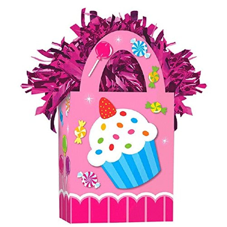 Amscan Girls Sweet Shop Miniトートバッグパーティーバルーン重量、5.7 Oz、ピンク