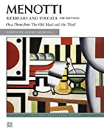Ricercare and Toccata For the Piano: On a Theme from the Old Maid and the Thief (Alfred Masterwork Edition)