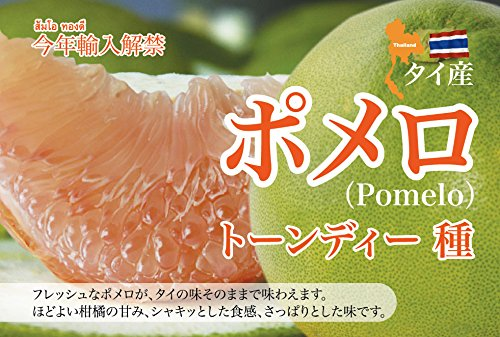 タイ産 フルーツ ポメロ 6kg (6-8玉) タイ輸入 タイの人気柑橘系果実