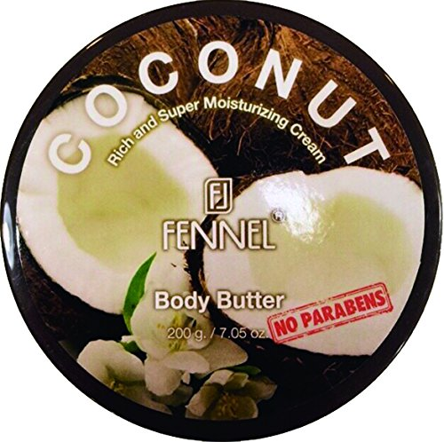 フェネル ボディバター ココナッツ 200g